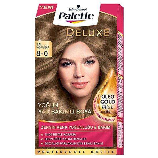Deluxe Saç Boyası 8-0 Bal Köpüğü