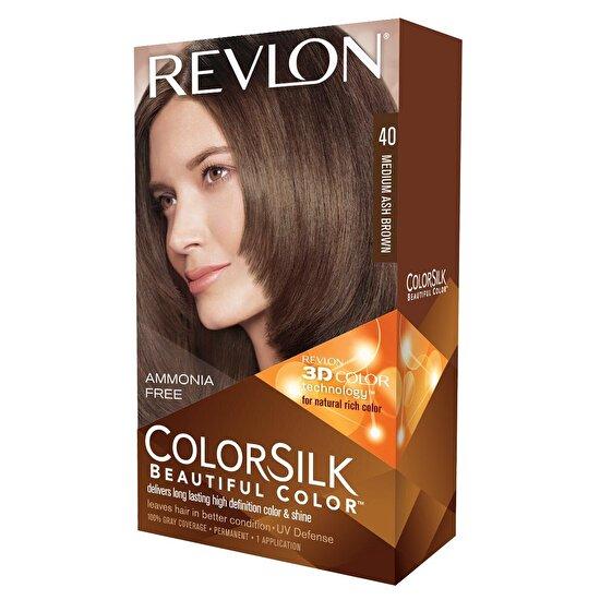 Colorsilk Saç Boyası Medium Küllü Kahverengi 40