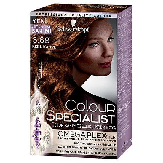 Colour Specialist Saç Boyası Kızıl Kahve 6-68