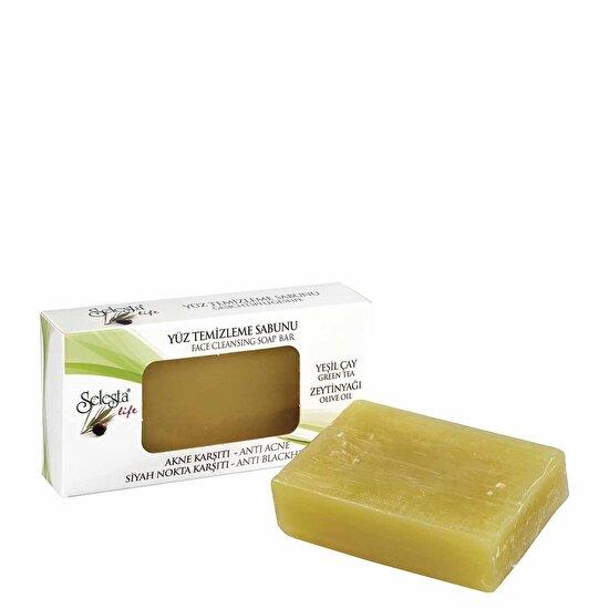 Zeytinyağlı Akne Karşıtı Yüz Temizleme Sabunu