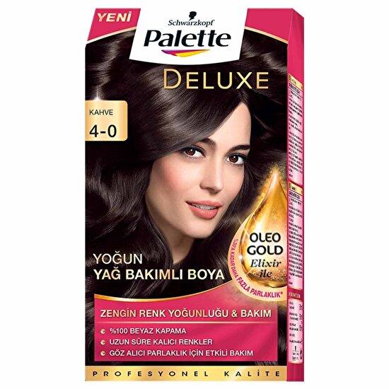 Deluxe Saç Boyası 4-0 Kahve