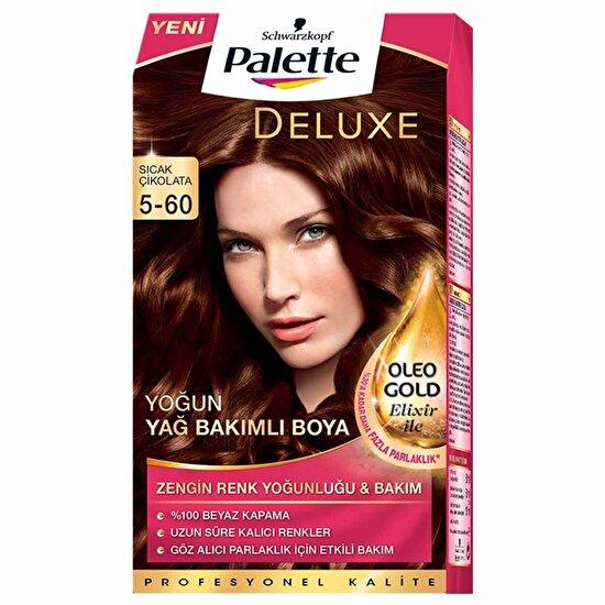 Deluxe Saç Boyası 5-60 Sıcak Çikolata