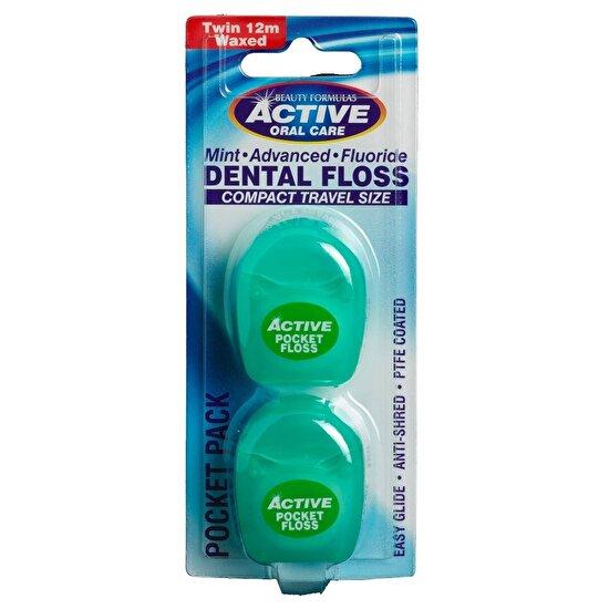 Advance Nane Aromalı Diş İpi 2X12 m