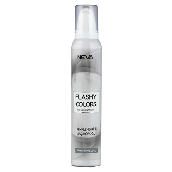 Flashy Colors Renklendirici Saç Köpüğü Gümüş