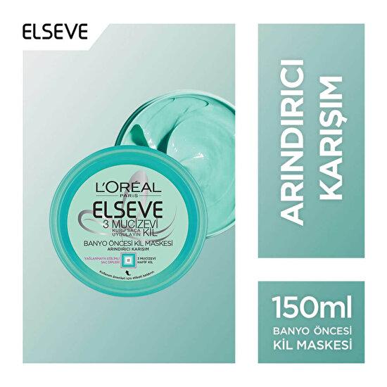 Mucizevi Kil Saç Maskesi 150 ml