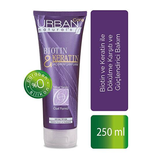 Biotin & Keratin İçeren Dökülme Karşıtı Şampuan 250 ml