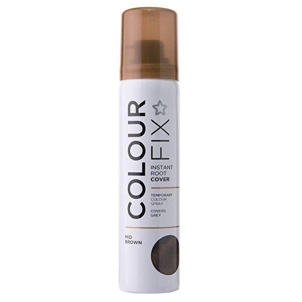 Colour Fix Geçici Sprey Dip Boya Kahve 75 ml