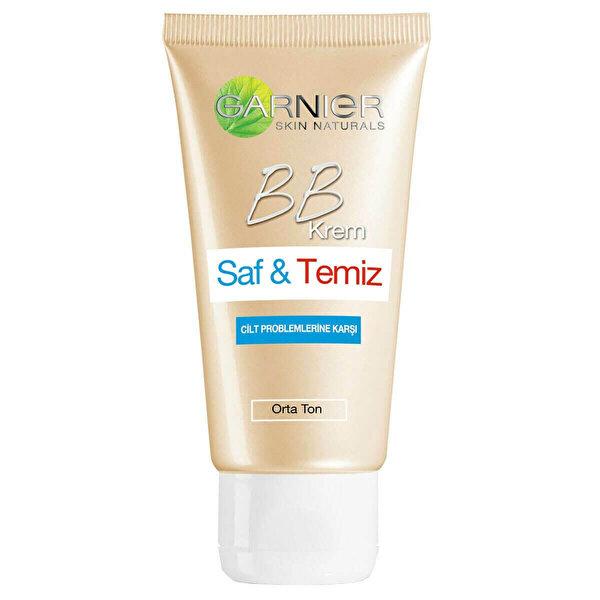 Skin Naturals BB Cream Pure Saf Temiz Orta 50M