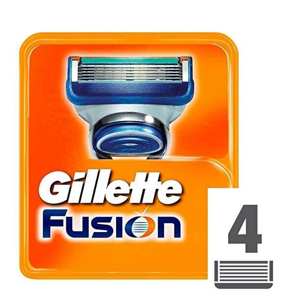 Fusion Yedek Tıraş Bıçağı 4 Adet