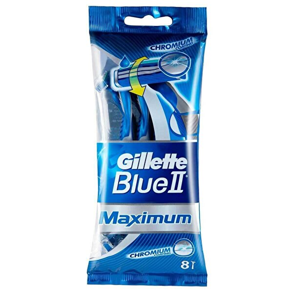 Blue2 Maximum Kullan At Tıraş Bıçağı 8 Adet