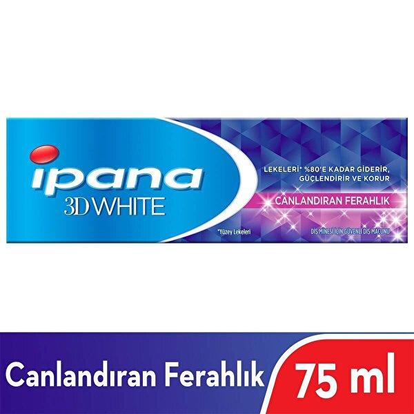 3 Boyutlu Beyazlık Canlandırıcı Ferahlık Diş Macunu 75 ml