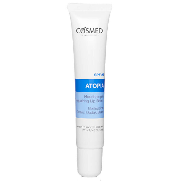 Atopia Besleyici ve Onarıcı Dudak Balmı 20 ml