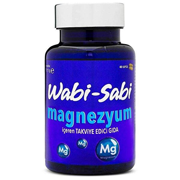 Magnezyum 40 Sert Kapsül