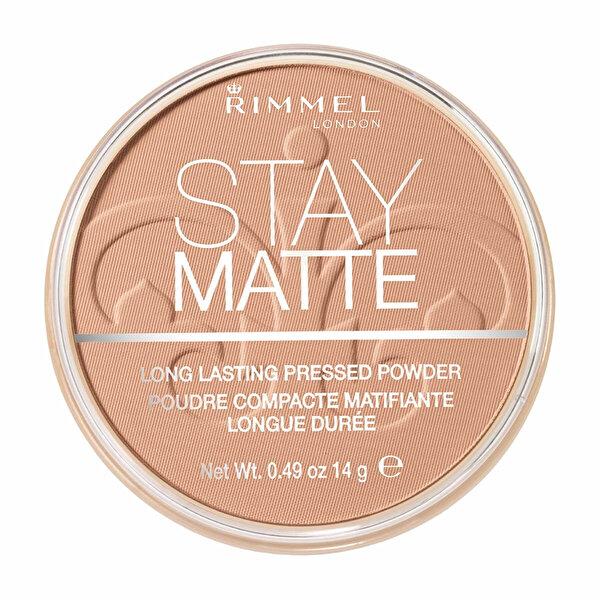 Stay Matte Pressed Pudra Renk 010 Warm Honey