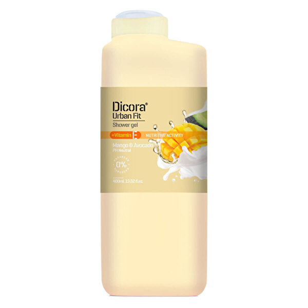 Urban Fit Duş Jeli E Vitamini Mango & Avokado 400 ml