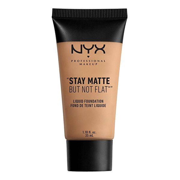 Stay Matte But Not Flat Liquid Foundation Tan