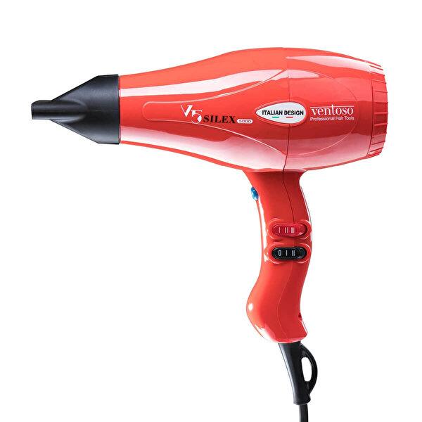Profesyonel Kuaför Fön Makinesi V5 Silex 5000 Kırmızı