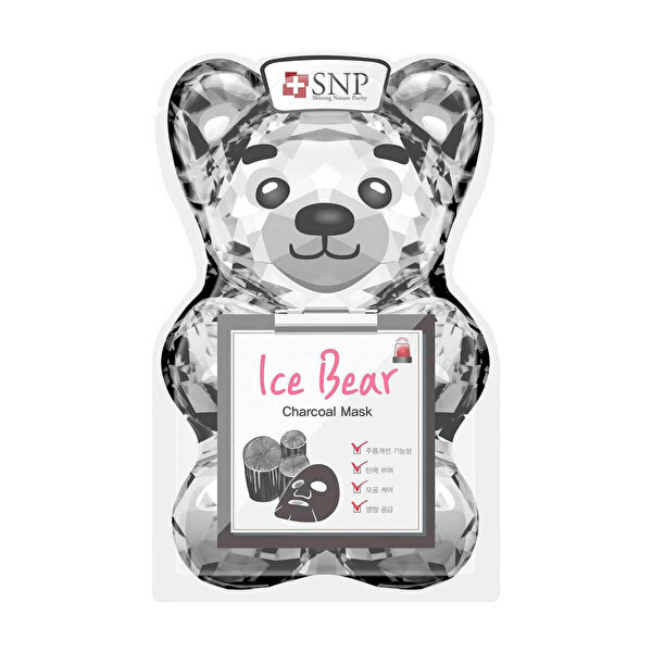 Ice Bear Charcoal maske 33 ml