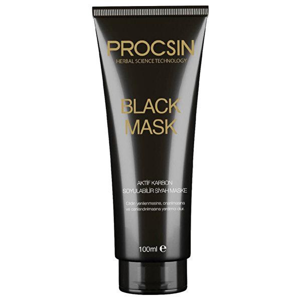 Black Mask Soyulabilir Siyah Maske 100ml