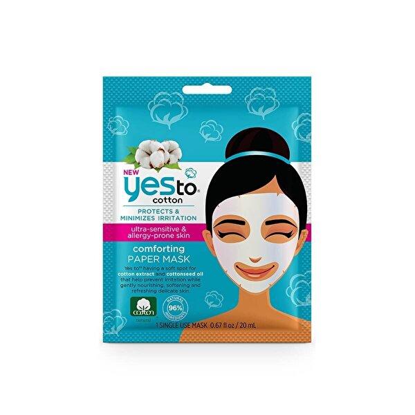 Tek kullanımlık Pamuk Rahatlatıcı Kağıt Maske 20 ml