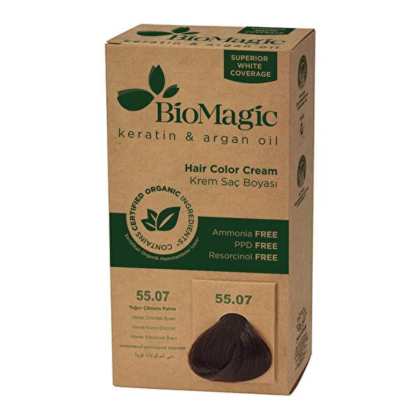 Doğal Saç Boyası Yoğun Çikolata Kahve 55.07