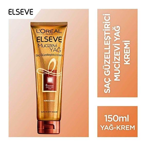 Mucizevi Yağ Saç Güzelleştirici Krem 150 ml