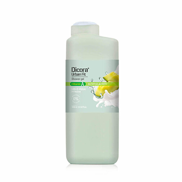 Urban Fit A Vitamini Süt ve Kavun Duş Jeli   400 ml