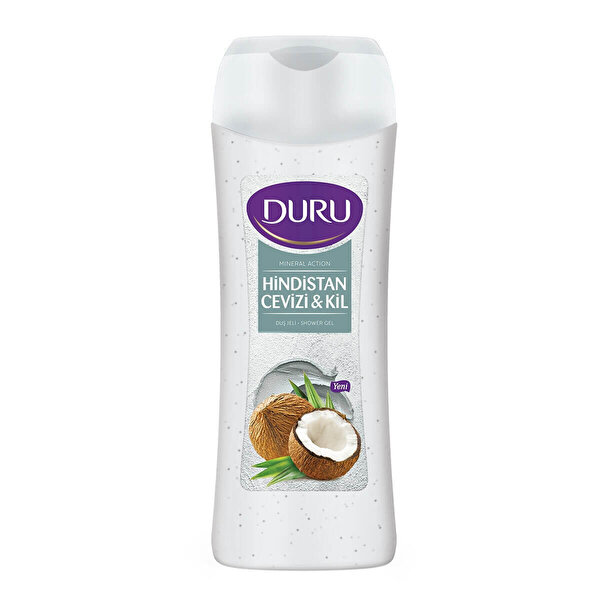 Mineral Action Hindistan Cevizi ve Kil Duş Jeli 700 ml