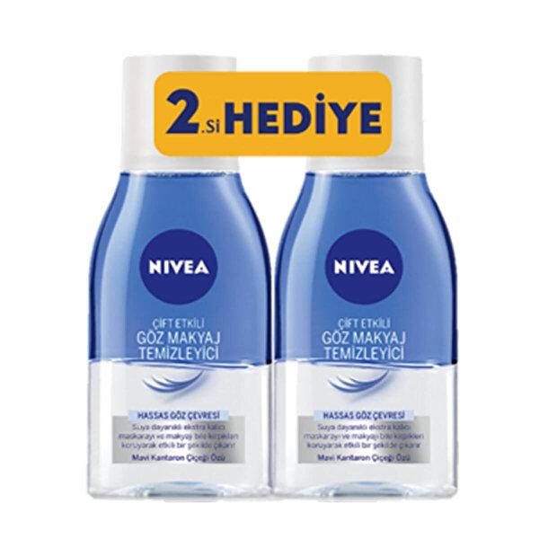 Visage Çift Etki Göz Makyaj Temizleme Losyonu 125+125 ml