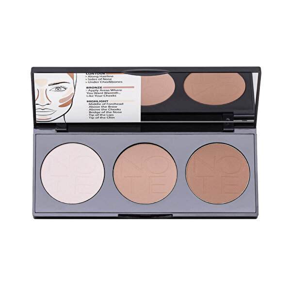 Perfecting Countouring Powder Palette 01
