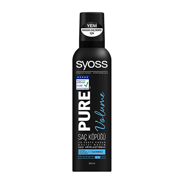 Pure Volume Saç Köpüğü 250 ml