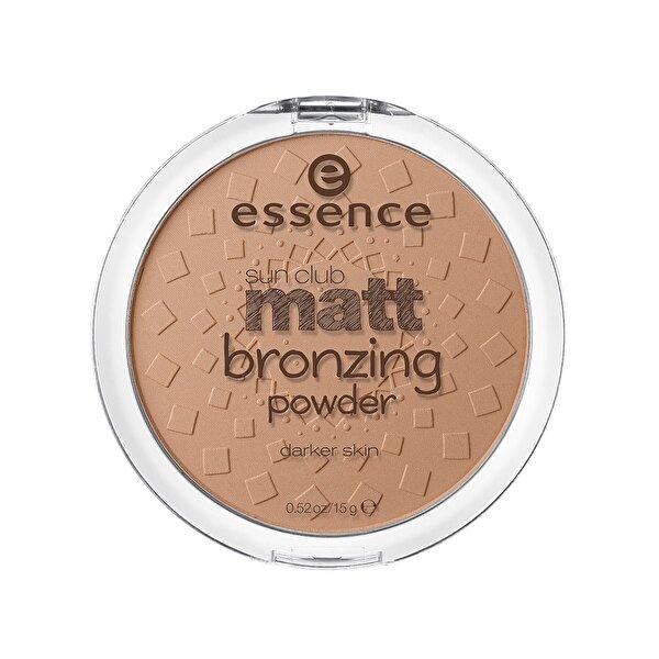 Sun Club Matt Bronzing Powder No: 02 Sunny