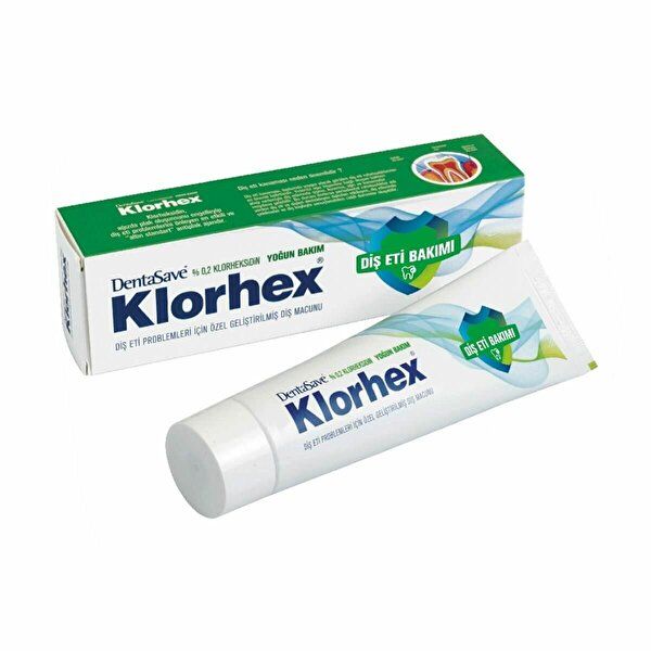 Klorhex Yoğun Bakım Diş Macunu 75ml