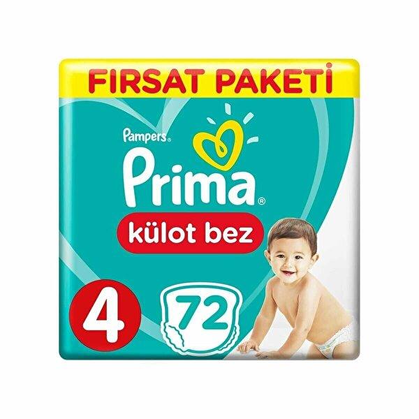Külot Bebek Bezi Fırsat Paketi 4 Beden 72 Adet