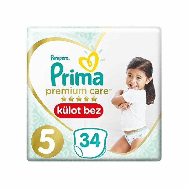 Premium Care Külot Bebek Bezi 5 Beden 34 Adet