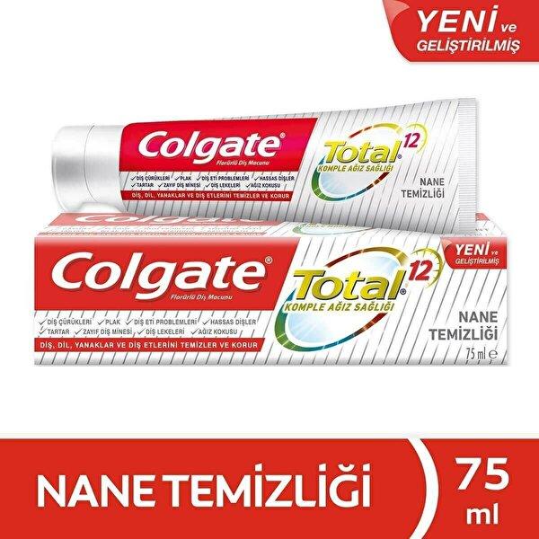Total Gelişmiş Nane Temizliği Diş Macunu 75 ml