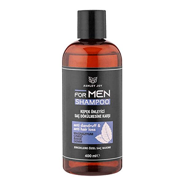 Kepek Önleyici ve Dökülme Karşıtı Erkek Şampuanı 400 ml