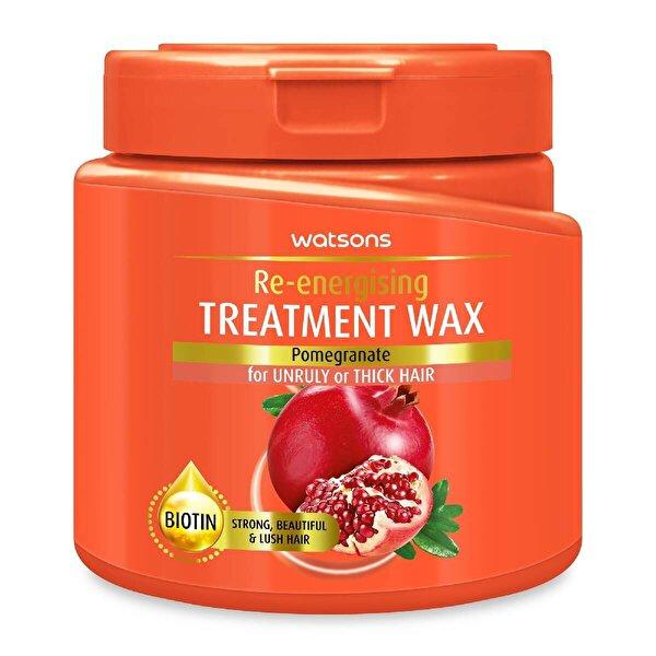 Pomegranate Re-Energising Treatment Wax 500ml