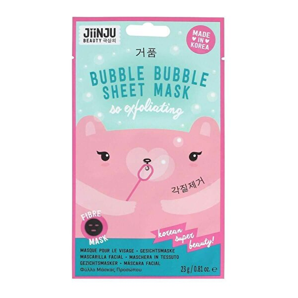 Bubble Sheet Maske