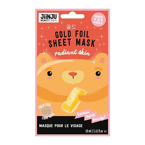 Altın Folyo Maske 1 Adet