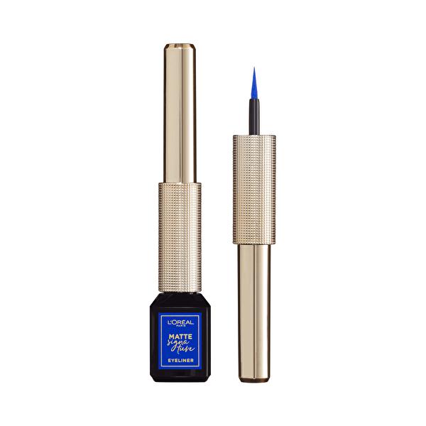 Matte Signature Eyeliner 02 Blue