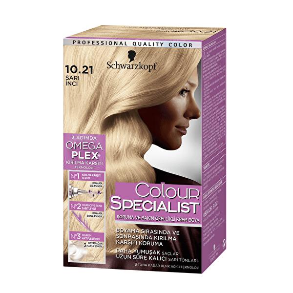 Colour Specialist Saç Boyası 10-21 Sarı İnci