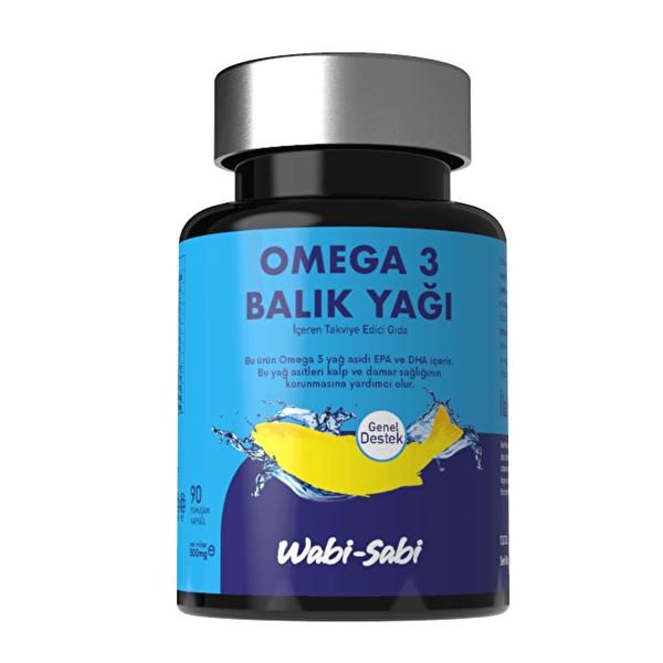 Omega 3 Balık Yağı 90 Yumuşak Kapsül 500 mg