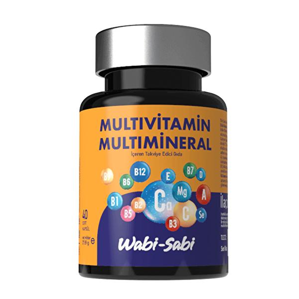 Multivitamin 40 Sert Kapsül