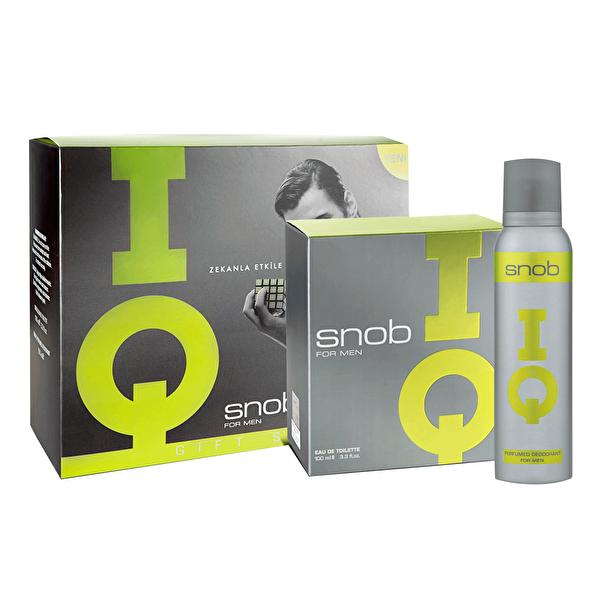 IQ Erkek Parfüm EDT 100 ml ve Deodorant 150 ml Set