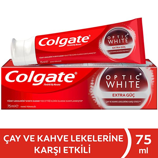 Optik Beyaz Extra Güç Beyazlatıcı Diş Macunu 75 ml