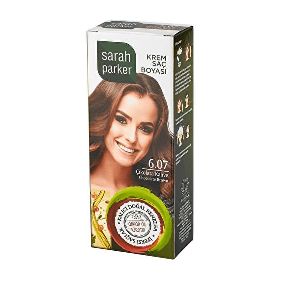 Çikolata Kahve Krem Saç Boyası 6.07