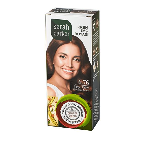 Tarçın Kahve Krem Saç Boyası 6.76
