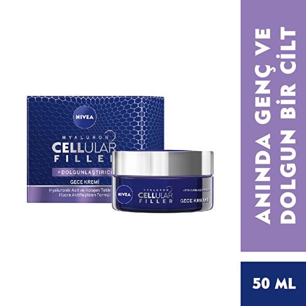Cellular Cilt Dolgunlaştırıcı Gece Kremi 50 ml