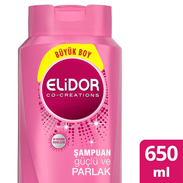 Güçlü ve Parlak Saç Bakım Şampuanı 650 ml